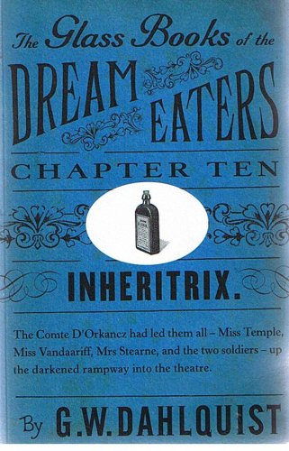 9780140912227: Inheritrix (The Glass Books of the Dream Eaters) (Chapter 10)
