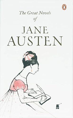 9780140912265: Jane Austen Box Set: Persuasion/ Pride and Prejudice/ Sense and Sensibility/ Mansfield Park/ Emma