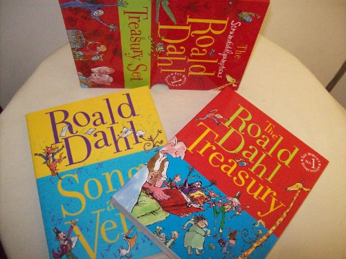 9780140924985: THE SCRUMDIDDLYUMPTIOUS ROALD DAHL TREASURY SET