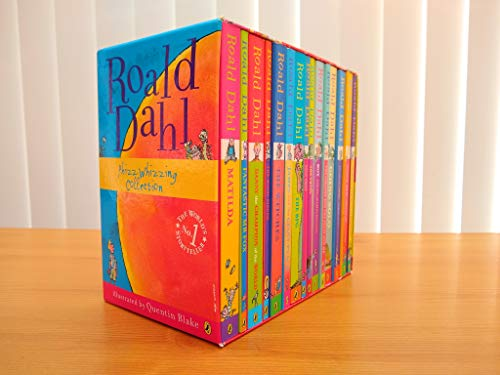 9780140926521: Roald Dahl 15 Book Box Set (Slipcase) Includes Matilda, Witches, The Twits, Fantastic Mr Fox, Charlie & the Chocolate Factory, Georges Marvellous Medicine, The BFG, Danny the Champion of the World....