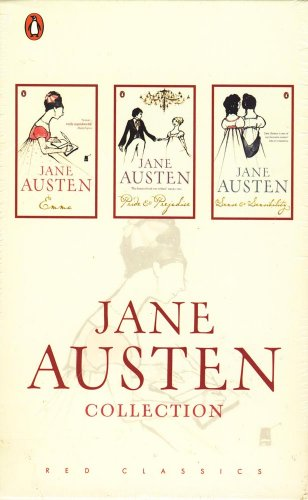9780140926545: Jane Austen Collection: Emma/Pride & Prejudice/Sense & Sensibility