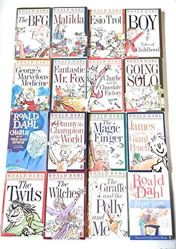 9780140926996: Roald Dahl 16 Book Slipcase Collection