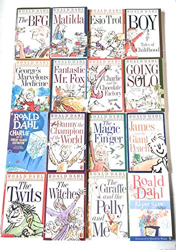 9780140926996: Roald Dahl 16 Book Slipcase Collection (Roald Dahl Collection)