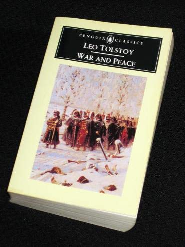 War and Peace (0140950168) by Tolstoy, Leo