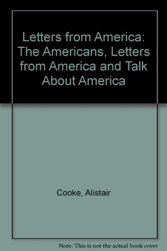 9780140951875: Letters from America: The Americans, Letters from America and Talk About America