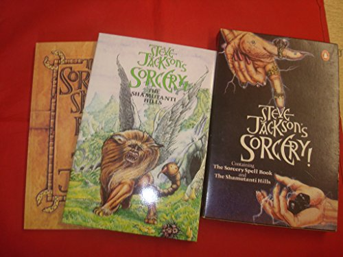 9780140952377: STEVE JACKSON'S SORCERY: THE SORCERY SPELL BOOK AND THE SHAMUTANTI HILLS (BOX SET)