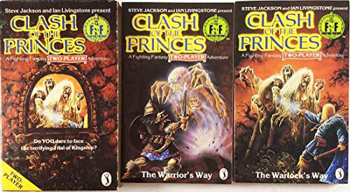 9780140953145: Steve Jackson and Ian Livingstone present Clash of the Princes: A Fighting Fantasy Two-Player Adventure