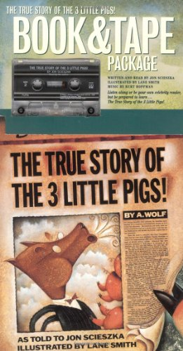 9780140954005: The True Story of the Three Little Pigs: Book & Tape Package