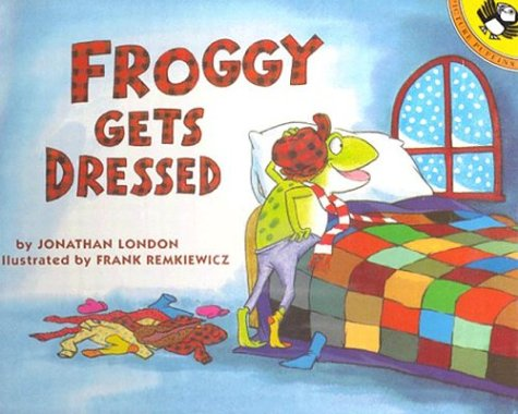 9780140954098: Froggy Gets Dressed [With Book]