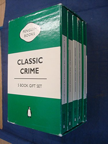 9780140954470: Classic Crime 5 Book Gift Set - Tiger in the Smoke, The Moving Toyshop, The Franchise Affair, Death at the Presidents Lodging & The Innocence of Father Brown