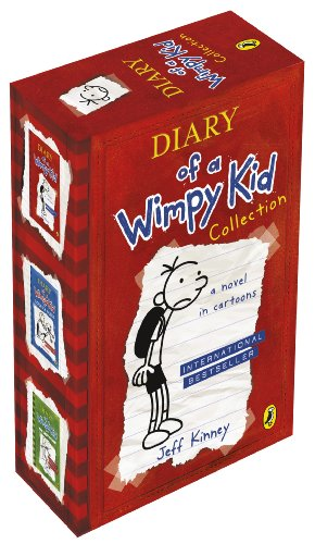 9780140958164: Diary of a Wimpy Kid Slipcase X 3
