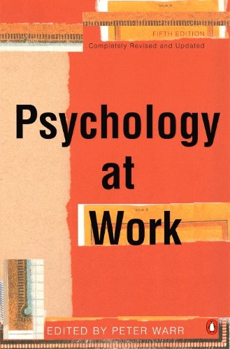 9780141000107: Psychology At Work 5e