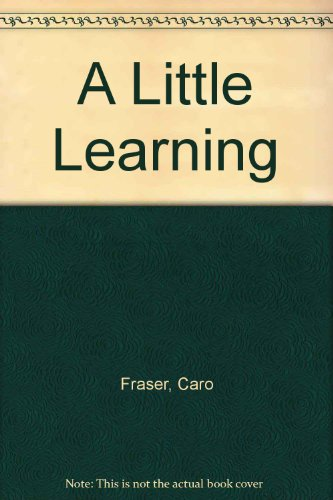 9780141000992: A Little Learning