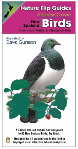 9780141004464: Nature Flip Guides: New Zealand Birds: Covers Both Native and Introduced Birds
