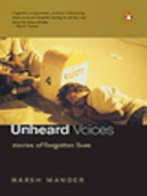 9780141006659: Unheard Voices: Stories of Forgotten Lives