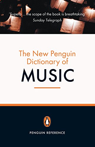 9780141009254: The New Penguin Dictionary of Music