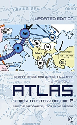 9780141012629: The Penguin Atlas of World History: Volume 2: From the French Revolution to the Present (Penguin Reference Books)
