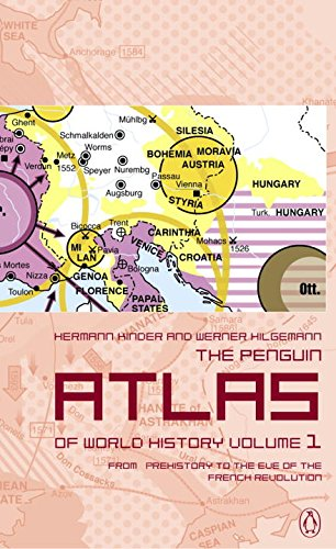 9780141012636: The Penguin Atlas of World History: Volume 1: From Prehistory to the Eve of the French Revolution (Penguin Reference Books)