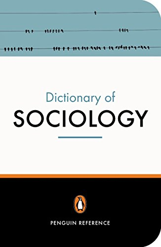9780141013756: The Penguin Dictionary of Sociology (Penguin Dictionary)