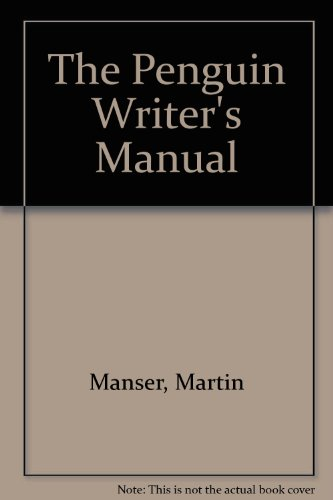 9780141014470: The Penguin Writer's Manual