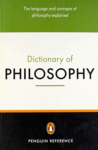 9780141018409: The Penguin Dictionary of Philosophy (Penguin Reference)