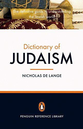 9780141018478: The Penguin Dictionary of Judaism (Penguin Reference Library)