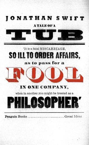 9780141018874: Great Ideas Tale Of A Tub,A (Penguin Great Ideas)