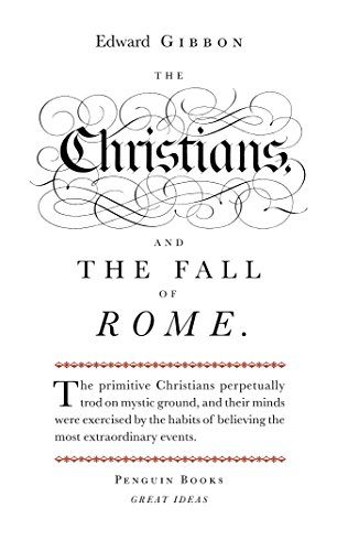 9780141018898: Great Ideas Christians and the Fall of Rome (Penguin Great Ideas)
