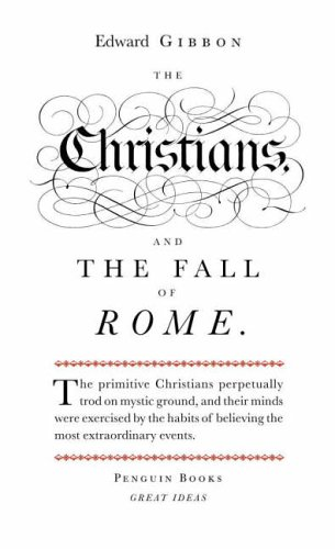 9780141018898: Penguin Great Ideas : The Christians and the Fall of Rome