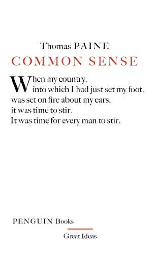9780141018904: Great Ideas Common Sense (Penguin Great Ideas)
