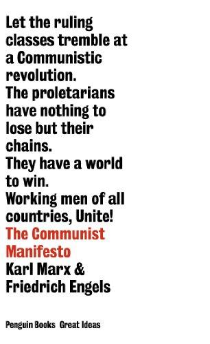 9780141018935: Great Ideas Communist Manifesto (Penguin Great Ideas)