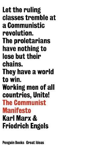 9780141018935: Great Ideas Communist Manifesto (Penguin Great Ideas)