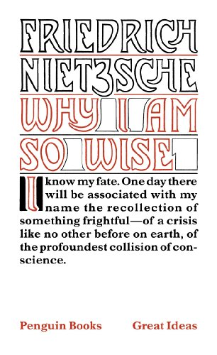 9780141018973: Penguin Great Ideas : Why I Am So Wise