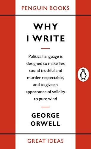 9780141019000: Great Ideas Why I Write (Penguin Great Ideas)