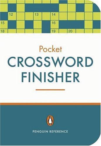 9780141020747: Crossword Finisher (Penguin Pocket)