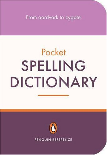9780141021102: The Penguin Pocket Spelling Dictionary (Penguin Reference)