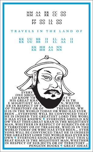 9780141023861: Travels in the Land of Kubilai Khan (Penguin Great Ideas)