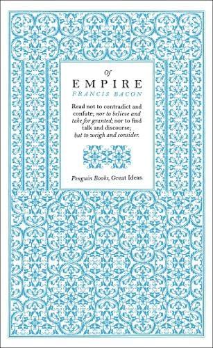 Of Empire (Penguin Great Ideas): Francis Bacon
