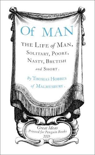 9780141023908: Of Man (Penguin Great Ideas)