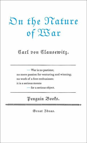 9780141023946: On the Nature of War (Penguin Great Ideas)