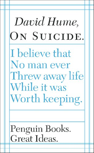9780141023953: On Suicide (Penguin Great Ideas)