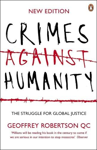 9780141024639: Crimes Against Humanity: The Struggle for Global Justice