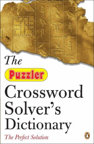 9780141027463: The Puzzler Crossword Solver's Dictionary