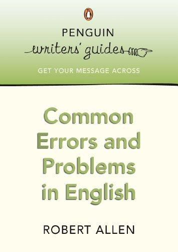 9780141028217: Common Errors in English