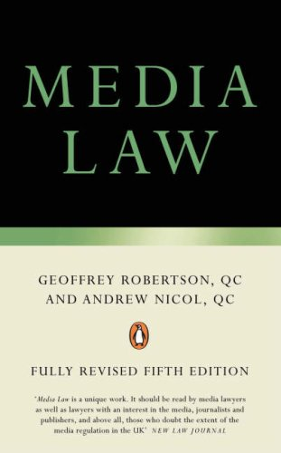 9780141030210: Media Law