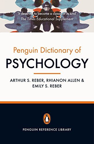 9780141030241: The Penguin Dictionary of Psychology: Fourth Edition