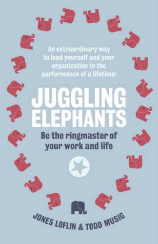 9780141031927: Juggling Elephants: Be the Ringmaster of Your Work and Life