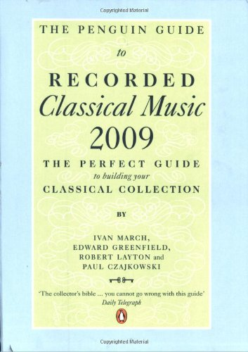 9780141033358: The Penguin Guide to Recorded Classical Music 2009
