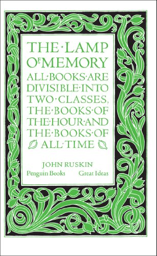 9780141036670: The Lamp of Memory (Penguin Great Ideas)