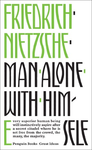9780141036687: Great Ideas Man Alone With Himself (Penguin Great Ideas)